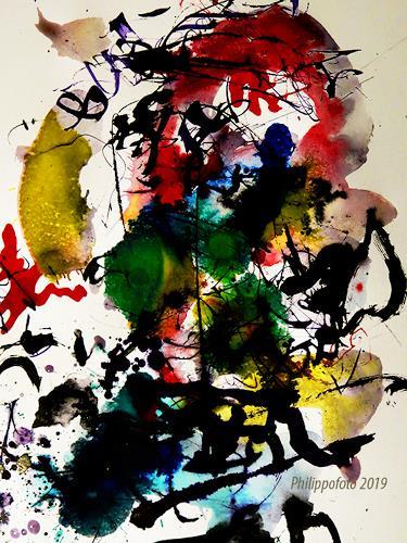 Rüdiger Philipp, hören und versinken !, Abstract art, Abstract art, Abstract Expressionism