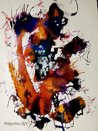 Rüdiger Philipp, das vergißt man nicht !, Abstract art, Abstract art, Abstract Expressionism