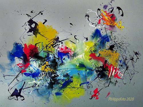 Rüdiger Philipp, noch nicht vergessen !, Abstract art, Abstract art, Abstract Expressionism
