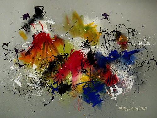 Rüdiger Philipp, an sich schon !, Abstract art, Abstract art, Abstract Expressionism