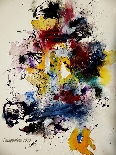 Rüdiger Philipp, momentan gut, Abstract art, Abstract art, Abstract Expressionism