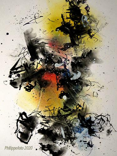 Rüdiger Philipp, bis dann !, Abstract art, Abstract art, Abstract Expressionism