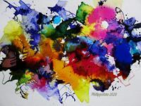 Ruediger-Philipp-Abstract-art-Abstract-art-Modern-Age-Expressionism-Abstract-Expressionism