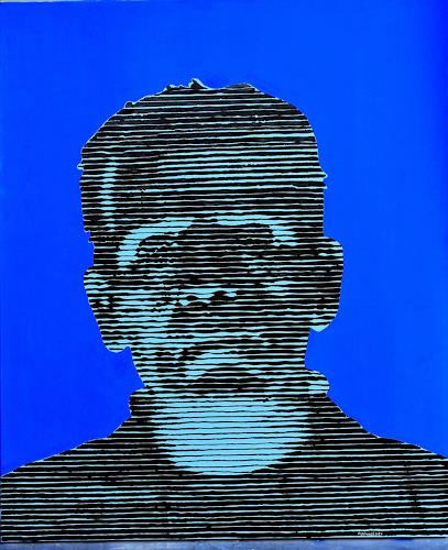 Andreas Schmelzer, Frank, Game, People: Men, Contemporary Art, Abstract Expressionism