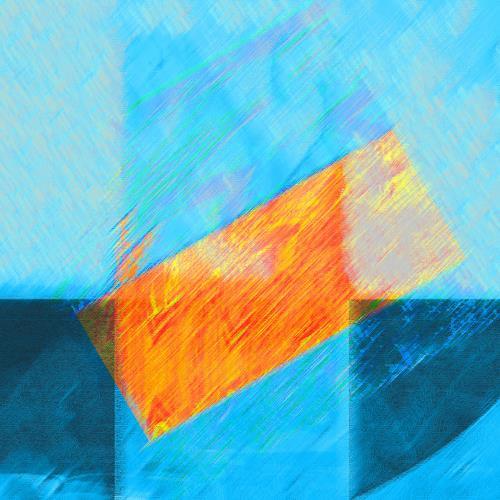 Santo Mazza, N/T, Abstract art, Abstract art, Tachism