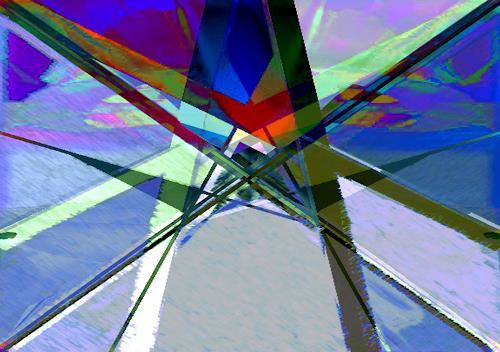 Santo Mazza, Stern, Abstract art, Abstract art, Abstract Art