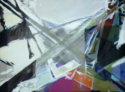 Santo Mazza, Winter, Abstract art, Abstract art, Abstract Expressionism