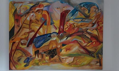 Heinz Kilchenmann, träumen, Poetry, Abstract Expressionism