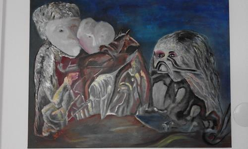 Heinz Kilchenmann, Furcht, Miscellaneous Emotions, Abstract Expressionism
