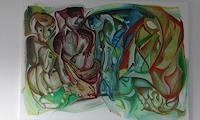 Heinz-Kilchenmann-Miscellaneous-Emotions-Modern-Age-Expressionism-Abstract-Expressionism