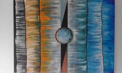 Heinz Kilchenmann, cold and warm, Abstract art, Neo-Impressionism