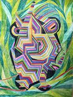 LK-Abstract-art-Animals-Land-Modern-Age-Abstract-Art