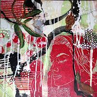 Marita-Tobner-People-Women-Plants-Contemporary-Art-Contemporary-Art