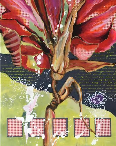 Marita Tobner, Stielikone, Plants, Plants: Flowers, Contemporary Art