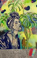 Marita-Tobner-People-Women-Miscellaneous-Plants-Contemporary-Art-Contemporary-Art
