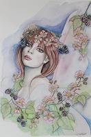 Elisabeth-Burmester-People-Faces-Fantasy-Modern-Times-Romanticism