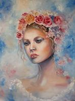Elisabeth-Burmester-People-Portraits-Plants-Flowers-Modern-Times-Romanticism
