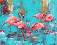 Elisabeth Burmester, Flamingobad