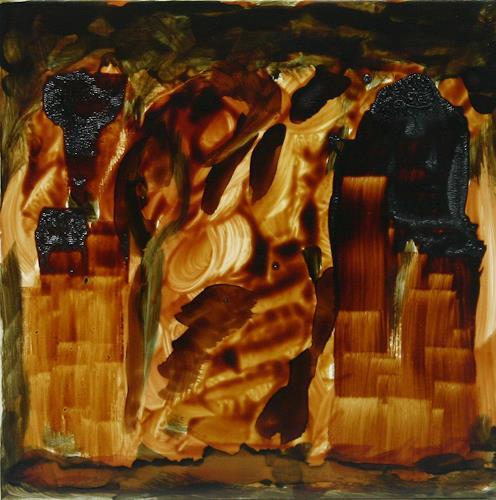 Stefan Drescher, Gedenkplatz | Memorial place, Society, Religion, Tachism, Abstract Expressionism