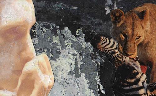 Christine Bizer, Sehnen der Schöpfung, Animals: Land, Contemporary Art, Abstract Expressionism