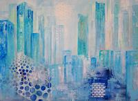 Zvonimir-Brumec-Buildings-Skyscrapers-Modern-Age-Expressionism-Abstract-Expressionism