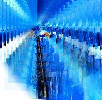 Zvonimir-Brumec-Fantasy-Modern-Age-Abstract-Art-Non-Objectivism--Informel-