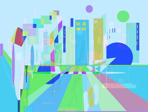 Zvonimir Brumec, WORLD OF DREAMS 2, Abstract art, Abstract art, Non-Objectivism [Informel]