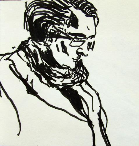 Peter Vetsch, Skizzenbuch-04-06-a, People: Faces, People: Men, Realism