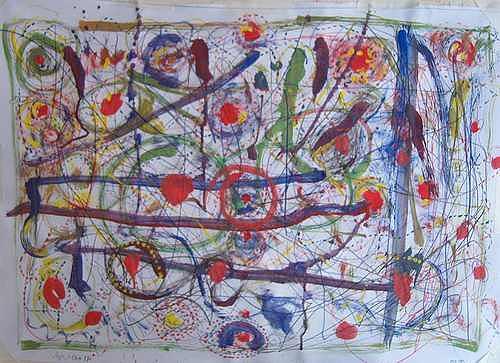Mirjam Schadendorf, Kreise und Linien, Abstract art, Modern Age