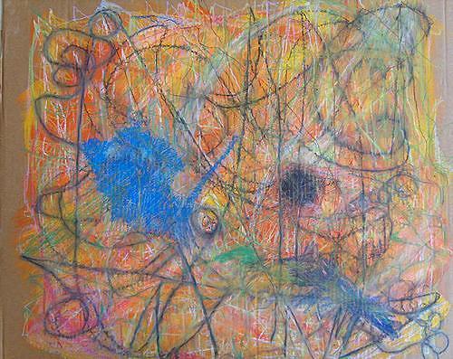 Mirjam Schadendorf, Farbbad, Abstract art, Non-Objectivism [Informel]