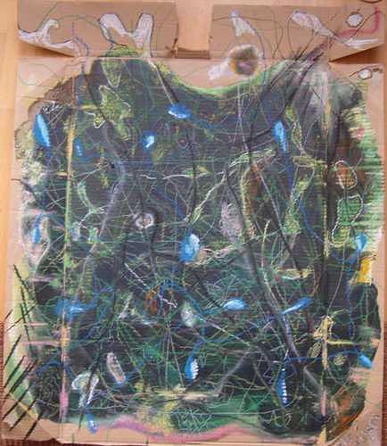 Mirjam Schadendorf, aus dem Wald, Nature: Wood, Non-Objectivism [Informel]