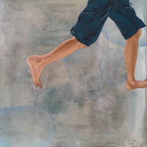 SiSch, Kannst du mir folgen? II, Miscellaneous People, Realism, Abstract Expressionism