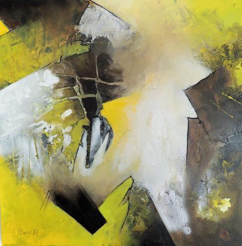 Claudia Maurer, Geistesblitz, Abstract art, Emotions, Abstract Art, Abstract Expressionism