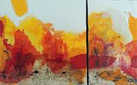 Claudia-Maurer-Abstract-art-Nature-Fire-Modern-Age-Abstract-Art