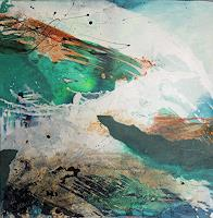 Claudia-Maurer-Landscapes-Sea-Ocean-Landscapes-Beaches-Modern-Age-Expressionism-Abstract-Expressionism