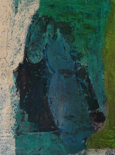 Sandra Nestler, Two Face, Abstract art, Abstract Art, Abstract Expressionism