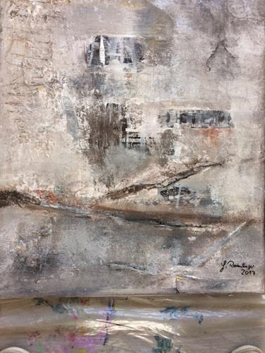 Gisela Rosenberger, Mahnung, War, Abstract Art, Abstract Expressionism