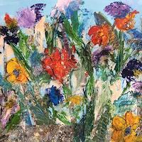 Gisela Rosenberger, Der Garten