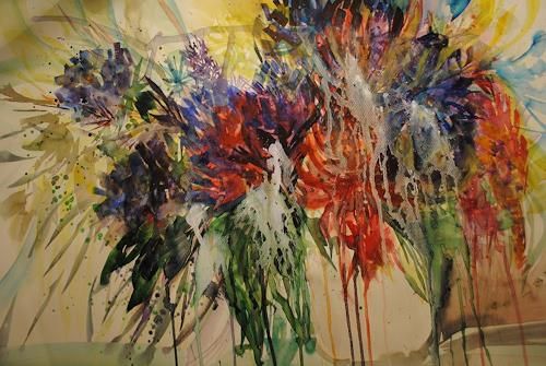 Christine Steeb, Rhododendron, Plants, Nature, Abstract Art, Abstract Expressionism