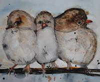 Christine-Steeb-Animals-Nature-Modern-Age-Abstract-Art