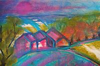 Christine-Steeb-Landscapes-Landscapes-Mountains-Modern-Age-Abstract-Art