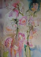 Christine-Steeb-Plants-Plants-Flowers-Modern-Age-Abstract-Art