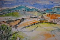 Christine-Steeb-Landscapes-Mountains-Landscapes-Modern-Age-Abstract-Art