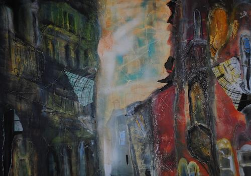 Christine Steeb, Venedig, Landscapes, Fantasy, Contemporary Art, Abstract Expressionism