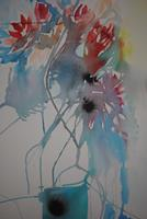 Christine-Steeb-Plants-Plants-Flowers-Modern-Age-Abstract-Art