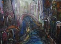 Christine-Steeb-Miscellaneous-Buildings-Fantasy-Contemporary-Art-Contemporary-Art