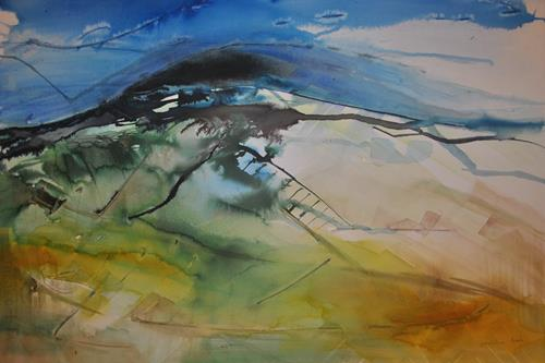 Christine Steeb, N/T, Landscapes, Nature, Contemporary Art