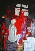 Heidrun-Becker-People-Abstract-art-Modern-Age-Abstract-Art