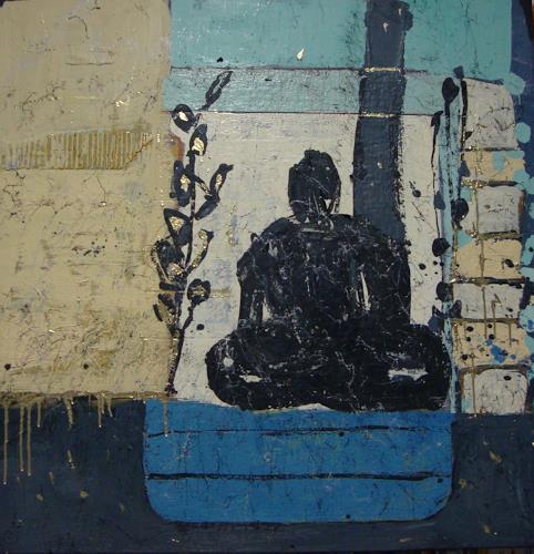 Heidrun Becker, Zen Meditation, Abstract art, Abstract art, Abstract Art