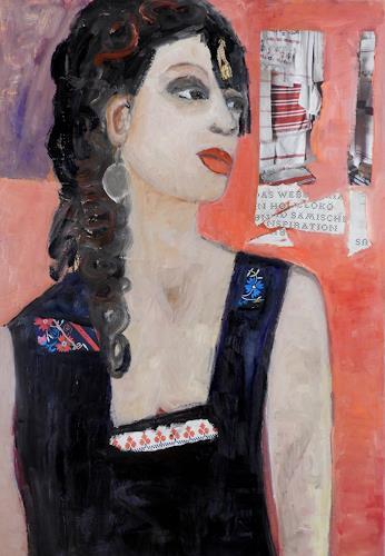 Heidrun Becker, Wartende, People, People, Contemporary Art